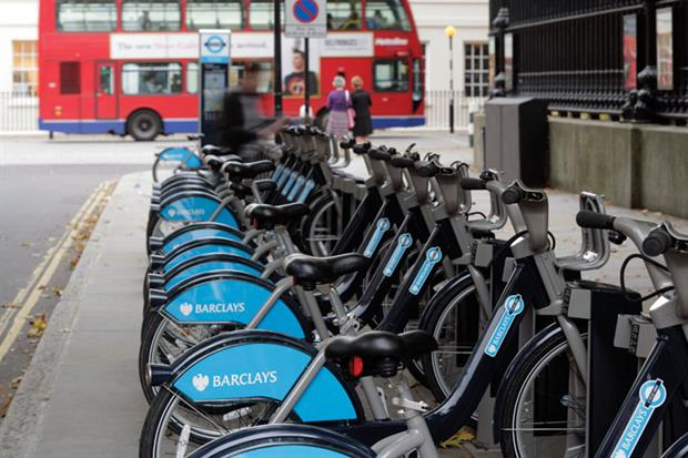 London's cycle hire scheme appears to benefit older age groups