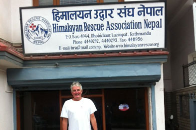 Read Dr Neil Rushton's Everest blog