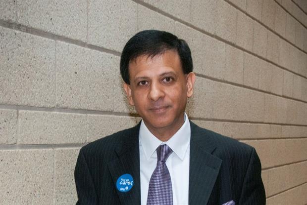 GPC chair Dr Chaand Nagpaul