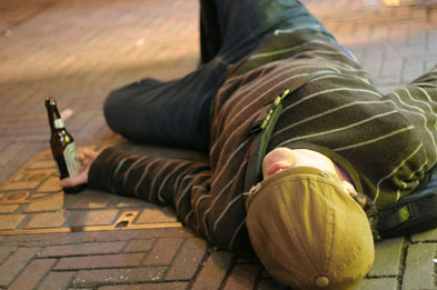 Despite media attention on binge drinking alcohol consumption is down (Photograph: Istock)
