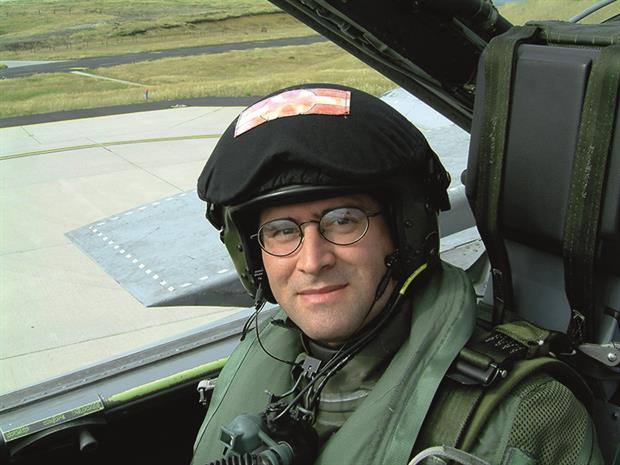 Dr Cabre's work as a GP in the RAF includes search and rescue missions (Author image)