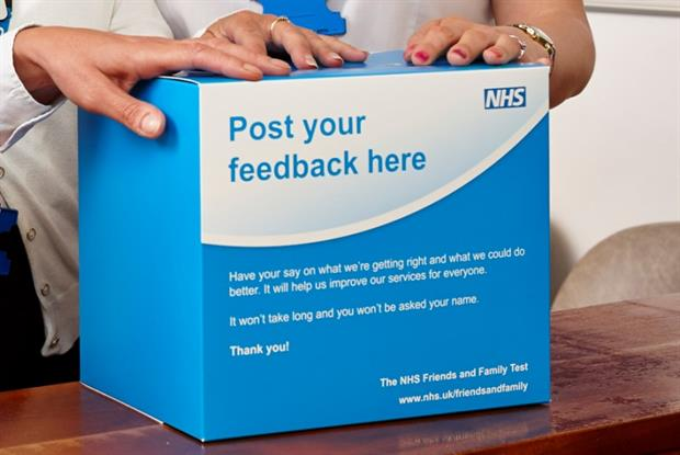Friends and Family Test: feedback received from 1m GP practice patients