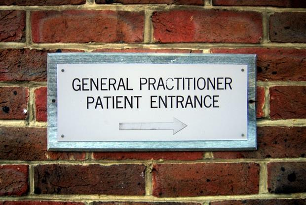 GP practices: most patients within 20-minute walk