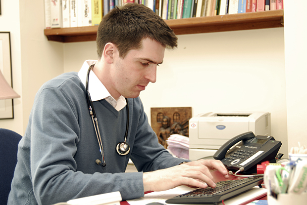 GP trainee (Photo: JH Lancy)