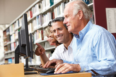 Libraries: ideal location for supporting patients (photo: istock)
