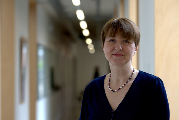 Dr Louise Irvine: campaigning against Jeremy Hunt (Photo: JH Lancy)