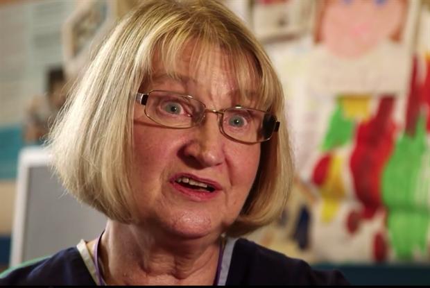 Community nurse Margaret Mitchell