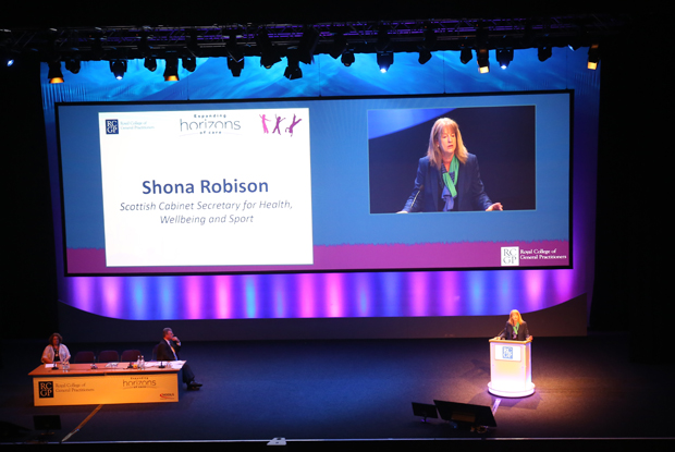 Scottish health secretary Shona Robison (Photo: Gevi Dimitrak)