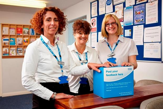 Springhead Medical Centre: FFT champions have helped gather 300 responses a month