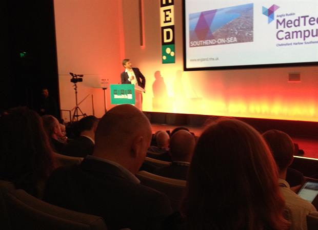Tony Young speaks at Wired Health 2015