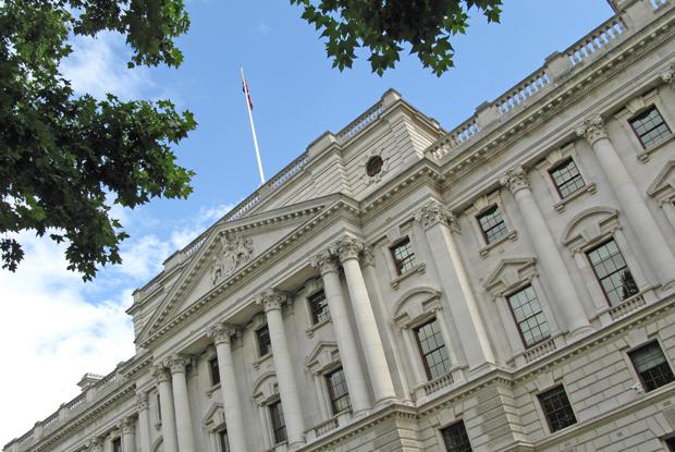 HM Treasury (Photo: Ian Bottle)