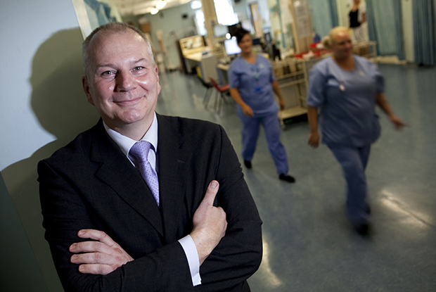 Dr Chris Mimnagh 'The idea of having the same staffing 24/7 and 7/7 is crazy' (Picture: UNP)