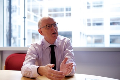 Dr Mike Bewick: GP and community care merger could happen (Photo: Jason Heath Lancy)