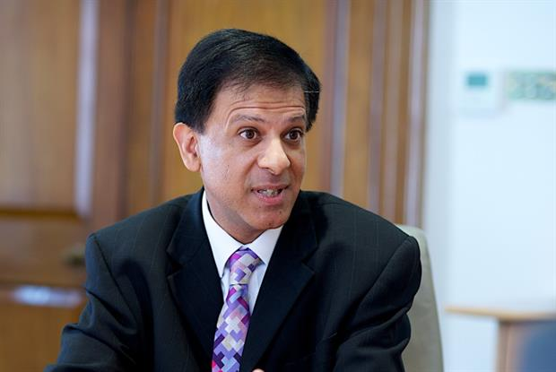 Dr Nagpaul: 'We continue to feel very concerned with the whole league table approach to inspections.' Pic: JH Lancy