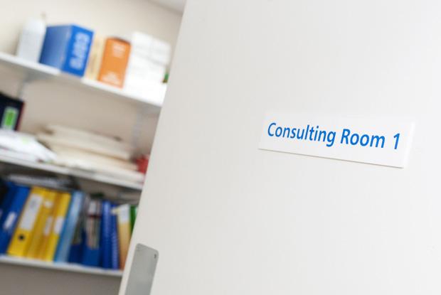 GP consultation room (Photo UNP/Robert Johns)