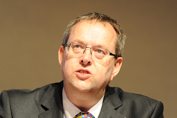 BMA pensions committee chair Dr David Bailey (Photo: JH Lancy)