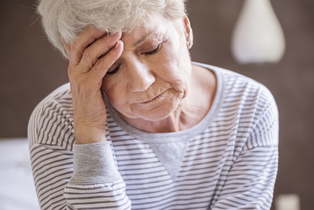 Patients who have depression may be at higher risk of fracture (Photo: iStock)