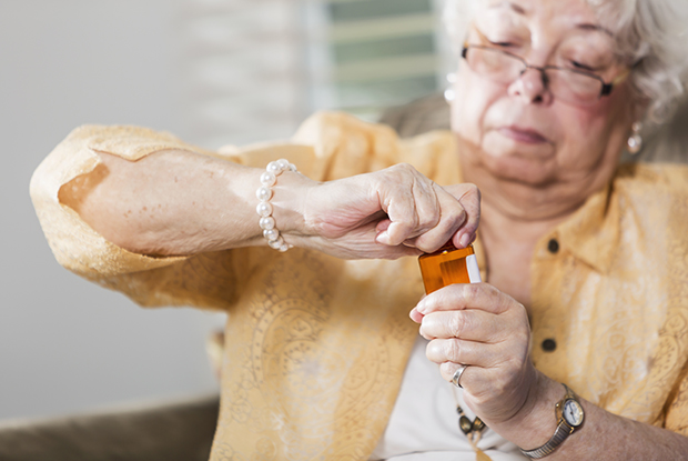 Patients with arthritis may struggle to open medication packaging (Photo: iStock)