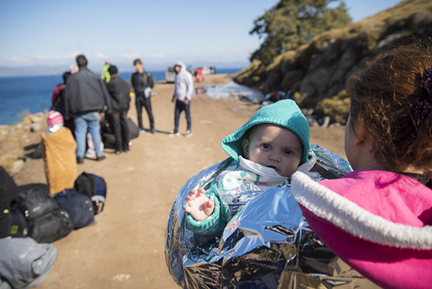 Syrian refugees arriving in Greece (Photo: iStock)