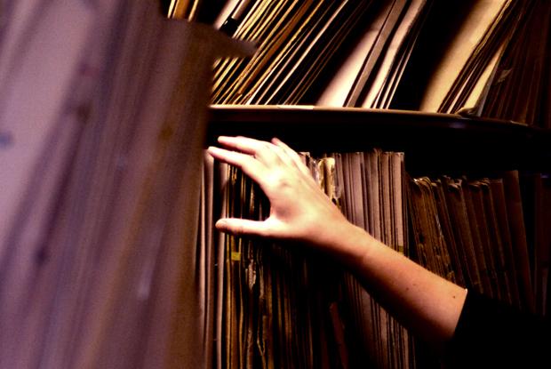 Patient records (Photo: JH Lancy)
