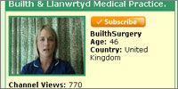 YouTube information from Welsh practice