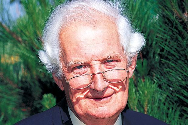 Garden writer Peter Seabrook (HW)