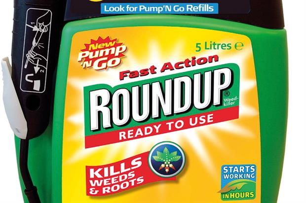 Roundup: Monsanto's weedkiller is the biggest-selling product in £70m-a-year UK consumer glyphosate market