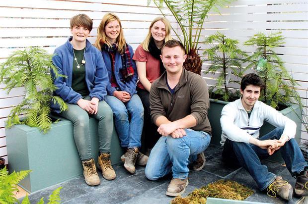 Eden project landscape apprentices - image: Eden Project