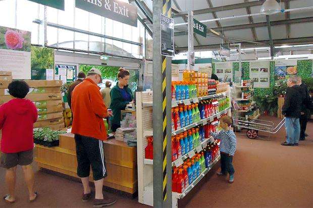 Garden centres: greater Sunday trading would generate more income