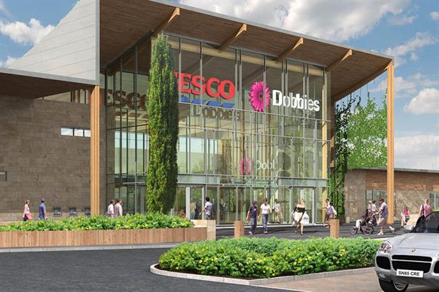 Right time: having written down its property portfolio in 2015, Tesco made a Dobbies  sale much more viable - image: Dobbies