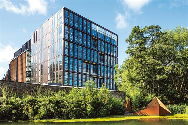 Five Pancras Square: 'outstanding' BREEAM sustainability rating. Image: Argent/John Sturrock