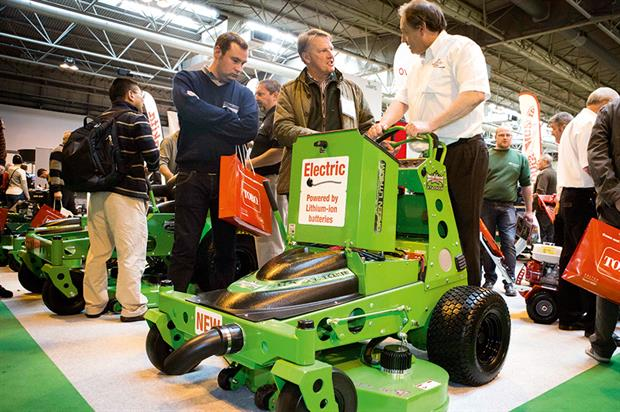 Mean Green Mowers: lithium-ion commercial zero-turn riding, walk-behind and stand-on machines from Overton - image: HW