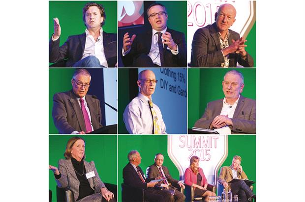 Summit speakers: wide range of leading executives at event in 2015