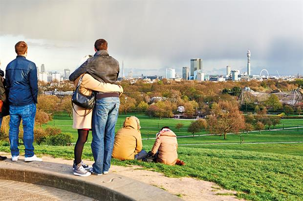 London: growing population impacting public realm - image: Greywolf/The Royal Parks