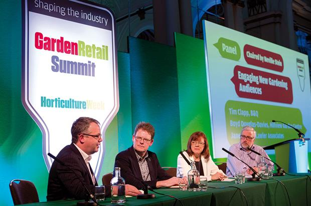 Summit: delegates discussed how to engage new gardening audience while negotiating policy and business changes - image: HW