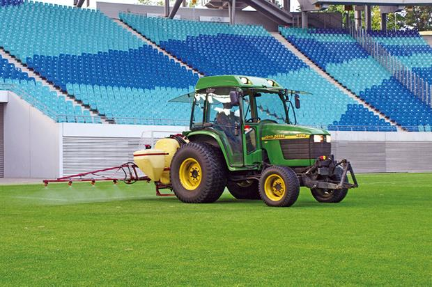 Sports turf: achieving and maintaining a healthy grass sward depends on a balance of several factors but nutrition is a main one