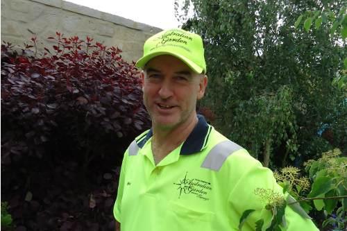 Australian garden designer, Wes Flemming - image: HW