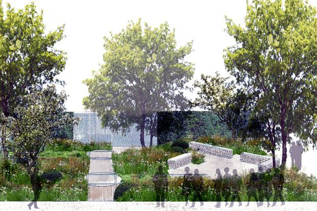 Cloudy Bay: show garden design