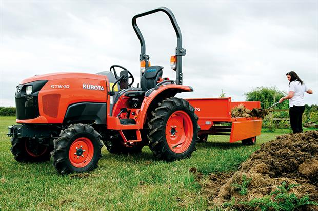 Work vehicles: landscape machinery not eligible for lower-duty diesel that can be used by agriculture businesses - image: Kubota UK