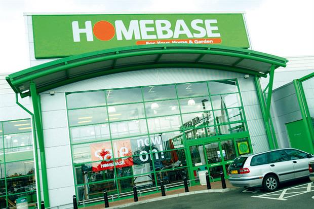 Homebase: second-largest home improvement and garden retailer operating in UK and Ireland with 265 stores