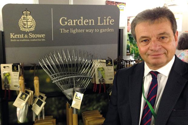 Davies: Kent & Stowe garden tool range now in 400 stockists after launch in 2015 and will be advertised this year