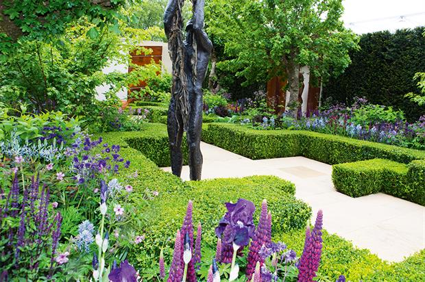 Morgan Stanley Healthy Cities Garden: designer Beardshaw hailed a return to 'a celebration of horticulture' at this year's show  - image: HW