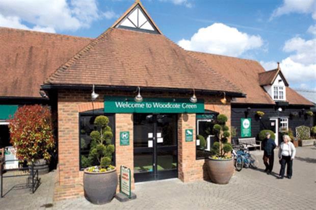 Woodcote Green: now part of Wyevale Garden Centres