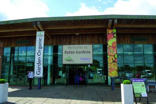 Ryton Gardens hosted a Garden Organic conference on sustainability - image: HW