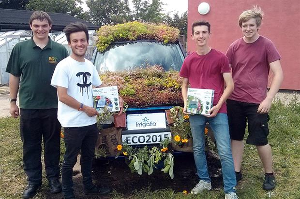 Eco car: completed by students (credit: BCA)