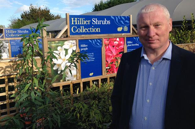 Francis: move to take Hillier Garden Centres online