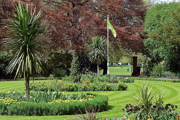 Green Flag-awarded Peckham Rye Park, maintained by Quadron. Image: Quadron