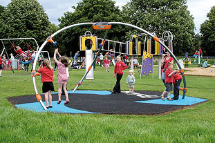 Signs the economy is recovering - image: Playdale Playgrounds