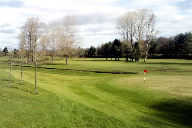 North Inch Golf Course: maintenance services job started on 1 April