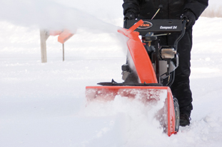 Ariens Sno-Thro Compact24 - Image: Countax